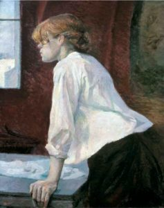 la blanchisseuse Toulouse Lautrec